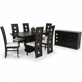Comedor Quadro 6 sillas y Bufetero