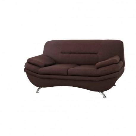 Love Seat Conti Estilo Contemporaneo en Lino Cafe - Envío Gratuito
