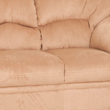 Love Seat Forli tapizada en velvet - Envío Gratuito