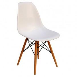 Silla Replica Eames Blanca