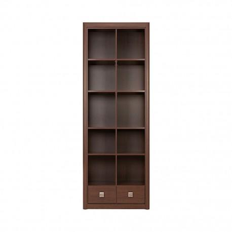 Librero Koen BRW Estilo Contemporáneo - Envío Gratuito