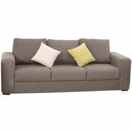 Sofá Luver tapizado en lino estilo contemporáneo