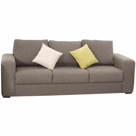 Sofá Luver tapizado en lino estilo contemporáneo - Envío Gratuito