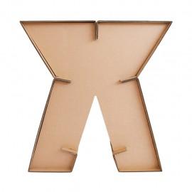 Escritorio X2 con cubierta D glaf de cartón corrugado