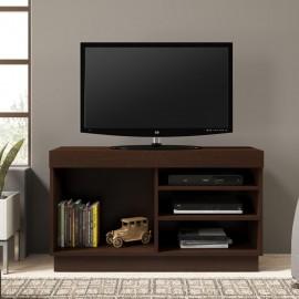 Mesa para TV Bertolini 1315 Chocolate con Entrepaños - Envío Gratuito
