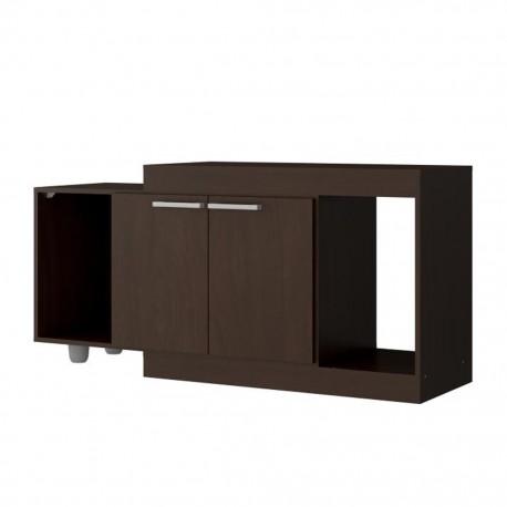 Mesa para TV Bertolini 2301 Chocolate - Envío Gratuito