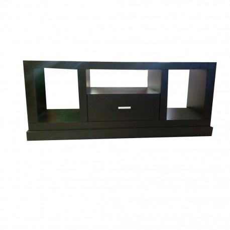 Mesa para Tv Kofe Estilo Contemporáneo Color Chocolate - Envío Gratuito