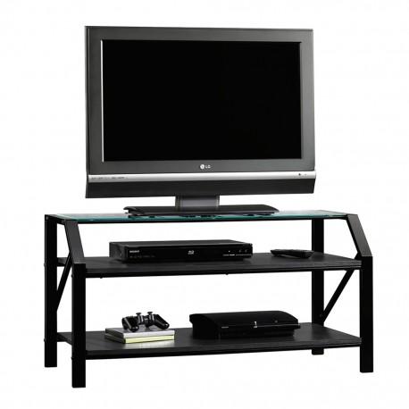 Mueble para TV Beginnings Sauder Negro 2 Repisas - Envío Gratuito