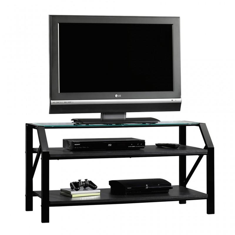 Mueble Para Tv Beginnings Sauder Negro 2 Repisas