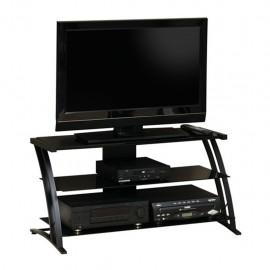 Mueble para TV Deco Sauder Negro 2 Repisas