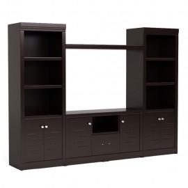 Mueble para TV Novara Semimate Madera Industrializada
