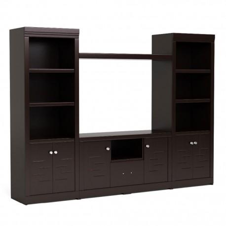 Mueble para TV Novara Semimate Madera Industrializada - Envío Gratuito