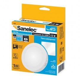 Lámpara circular 12W Luz Fría para sobreponer - Envío Gratuito