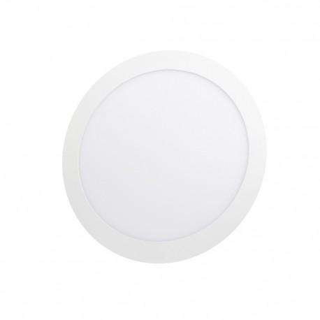 Lámpara circular 12 watts luz cálida para empotrar Sanelec - Envío Gratuito
