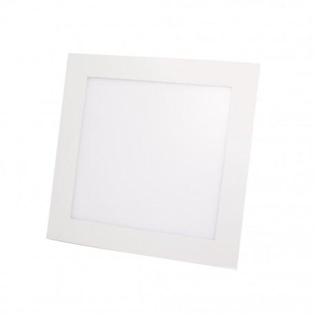 Lámpara cuadrada 12 watts luz fría para empotrar Sanelec - Envío Gratuito