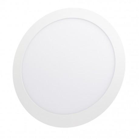 Lámpara circular 18 watts luz cálida para empotrar Sanelec - Envío Gratuito