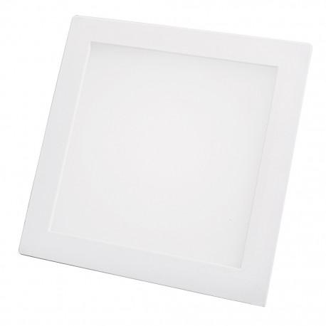 Lámpara cuadrada 18 watts luz cálida para empotrar Sanelec - Envío Gratuito