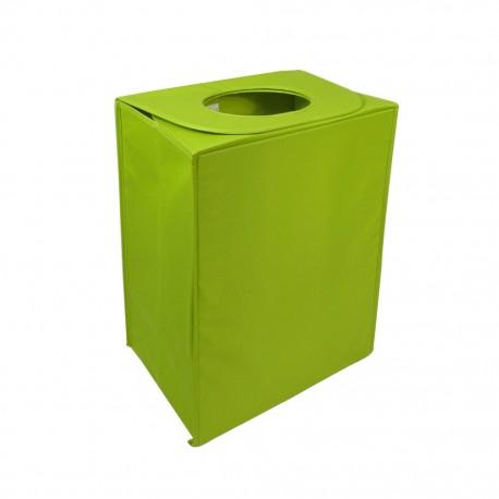 Cesto de Ropa Cubo Liso Verde CasaMia - Envío Gratuito