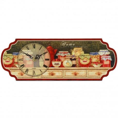 Reloj de Mesa Frascos de Conservas Multicolor - Envío Gratuito