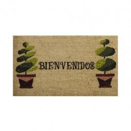 Tapete De Entrada Aristo Mats Topiary .45 X .75 CasaMia - Envío Gratuito