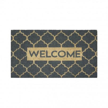 Tapete De Entrada Aristo Mats Marrakesh Welcome .45 X .75 CasaMia - Envío Gratuito