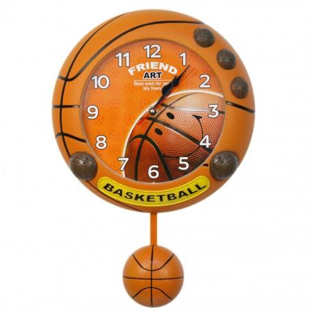 Reloj de Pared Balón de Basquetbol - Envío Gratuito