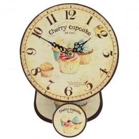 Reloj de Pared Pastelillos Multicolor - Envío Gratuito