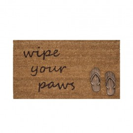 Tapete De Entrada Wipe Your Paws Sandals 45X75 CasaMia - Envío Gratuito