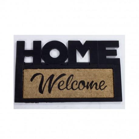 Tapete De Entrada Home Y Welcome 45 X 75 CasaMia - Envío Gratuito