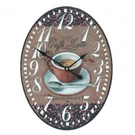 Reloj de Pared Café - Envío Gratuito