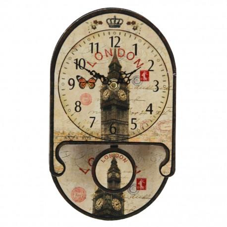 Reloj de Pared Big Ben con Péndulo - Envío Gratuito