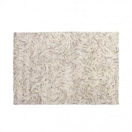 Tapete Decorativo Sparkly 1.20 X 1.70 Blanco 14 - Envío Gratuito