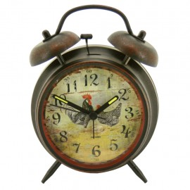 Reloj despertador de mesa Negro