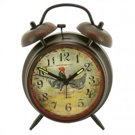 Reloj despertador de mesa Negro - Envío Gratuito