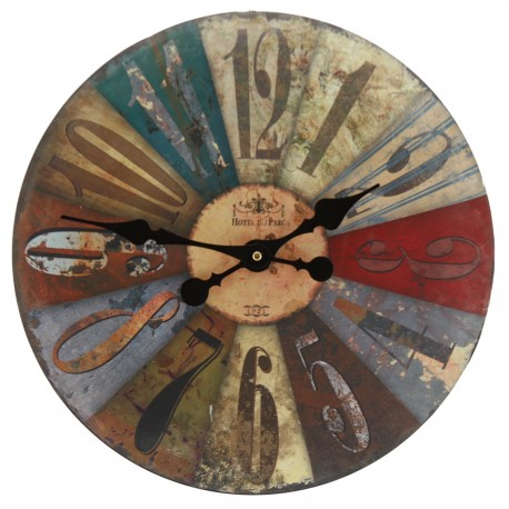 Reloj de Pared Multicolor - Envío Gratuito