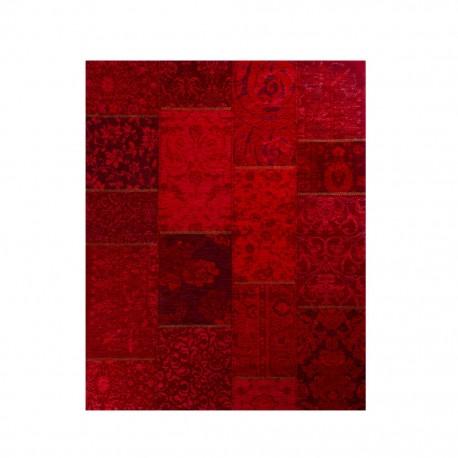 Tapete Decorativo Old Wine 2.00 X 2.90 Artes Rojo - Envío Gratuito