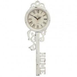 Reloj de Pared Llave Blanca