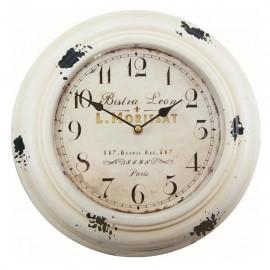 Reloj de Pared Vintage Blanco