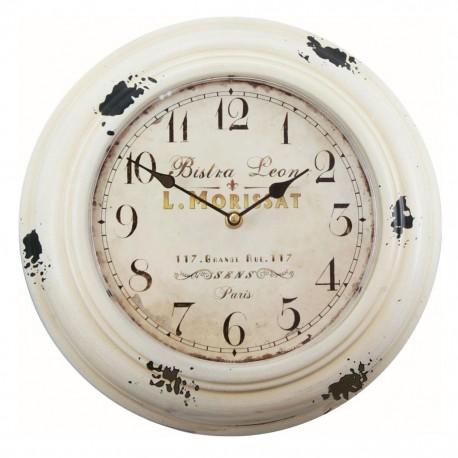 Reloj de Pared Vintage Blanco - Envío Gratuito