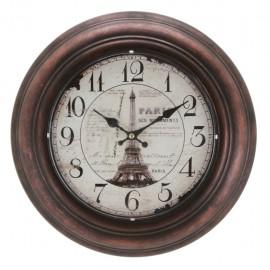 Reloj de Pared Torre Eiffel Café