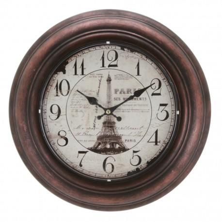 Reloj de Pared Torre Eiffel Café - Envío Gratuito