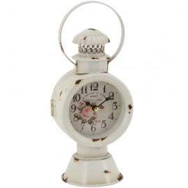 Reloj de Mesa Lámpara Blanca