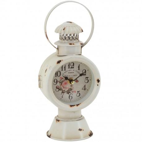 Reloj de Mesa Lámpara Blanca - Envío Gratuito