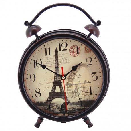 Reloj de Mesa Torre Eiffel Café - Envío Gratuito