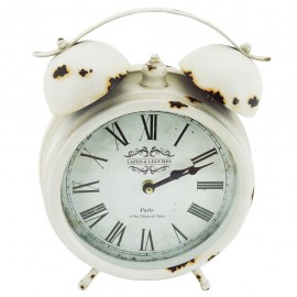 Reloj de Mesa París Blanco