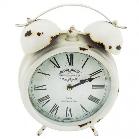 Reloj de Mesa París Blanco - Envío Gratuito