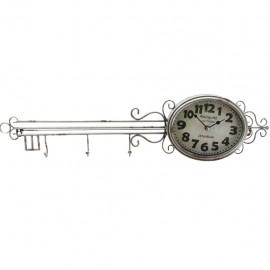 Reloj de Pared Llave Plata