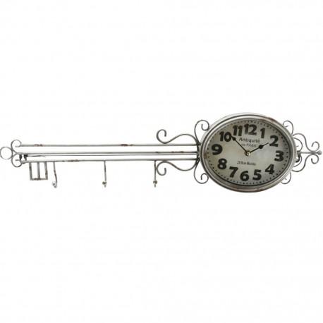 Reloj de Pared Llave Plata - Envío Gratuito