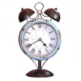 Reloj de Mesa Vintage Azul Cielo