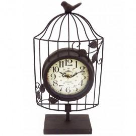 Reloj de Mesa Jaula Café
